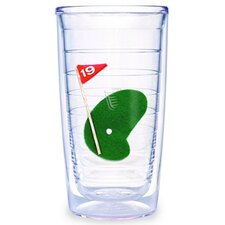 Sport and Activities Golf #19 16 oz. Insulated Tumbler (Set of 2)