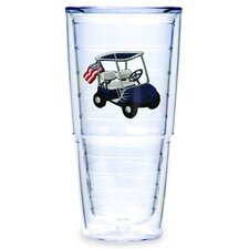 Golf Cart Blue 24 oz. Big-T Tumbler (Set of 2)