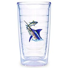 Guy Harvey Saltwater Marlin 16 oz. Tumbler (Set of 4)