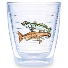 Guy Harvey Saltwater Redfish 12 oz. Tumbler (Set of 4)