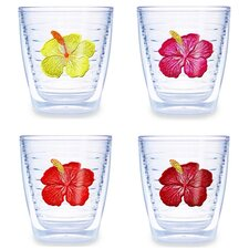 <strong>Tervis Tumbler</strong> Hibiscus Assorted 12 oz. Tumbler (Set of 4)