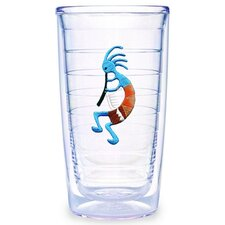 Kokopelli Blue 16 oz. Tumbler (Set of 4)
