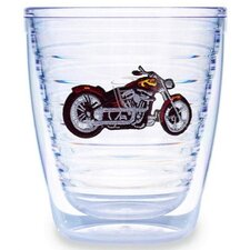 Sport and Activities Motorcycle 12 oz. Insulated Tumbler (Set of 4)