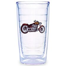 Sport and Activities Motorcycle 16 oz. Insulated Tumbler (Set of 4)