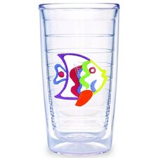 <strong>Tervis Tumbler</strong> Multi Colored Fish 16 oz. Tumbler (Set of 4)