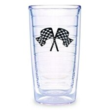 Racing Flag 16 oz. Tumbler (Set of 4)