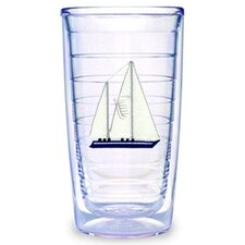 Sailboat Hc Blue 16 oz. Tumbler (Set of 4)