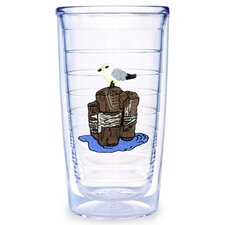 Animals and Wildlife Seagull 16 oz. Insulated Tumbler (Set of 4)