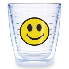 Just for Fun Smiley Face 12 oz. Insulated Tumbler (Set of 4)