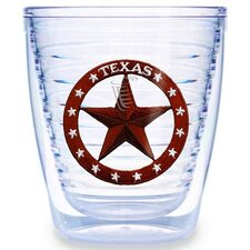 Texas Star 12 oz. Tumbler (Set of 4)