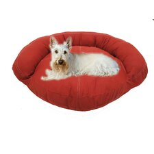 Barn Saddle Stitch Bolster Dog Bed
