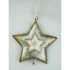Star Bell Hanging Ornament (Set of 3)
