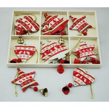 Boxed Hanging Ornaments (Set of 12)