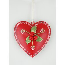 Heart Hanging Ornament (Set of 4)