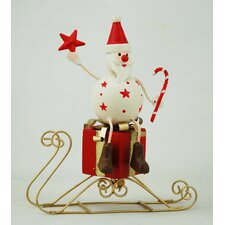 Santa on Sledge (Set of 2)