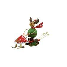 Snowmobile Reindeer (Set of 2)