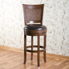 "<strong>American Heritage</strong> Barletto 24"" Swivel Bar Stool"