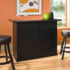 Trenton Fridge Bar in Black