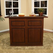 <strong>American Heritage</strong> Trenton Fridge Bar in Suede