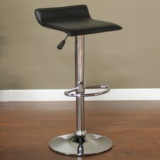 Aviator Adjustable Swivel Bar Stool with Cushion