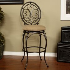 "<strong>American Heritage</strong> Opus 30"" Swivel Bar Stool with Cushion"