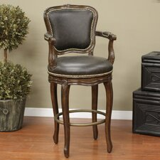<strong>American Heritage</strong> Salvatore Bar Stool with Cushion