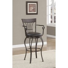 "Trinity 26"" Bar Stool with Cushion"