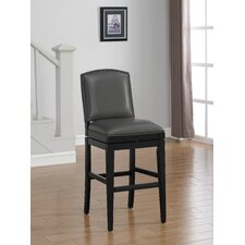 "Fortuna 30"" Swivel Bar Stool with Cushion"