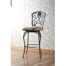 "Canterbury 34"" Swivel Bar Stool with Cushion"