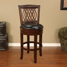 "<strong>American Heritage</strong> Atwood 24"" Swivel Bar Stool"
