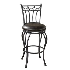 Abella Bonded Leather Stool
