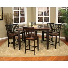 Rosetta 7 Piece Counter Height Pub Set