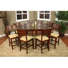 <strong>American Heritage</strong> Este 9 Piece Counter Height Dining Set