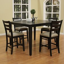 Este 5 Piece Counter Height Dining Set