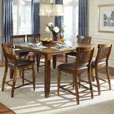 <strong>American Heritage</strong> Delphina 7 Piece Counter Height Dining Set