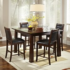 <strong>American Heritage</strong> Granita 5 Piece Counter Height Dining Set