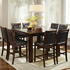 <strong>American Heritage</strong> Granita 9 Piece Counter Height Dining Set