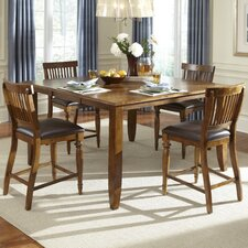 <strong>American Heritage</strong> Delphina Counter Height Dining Table