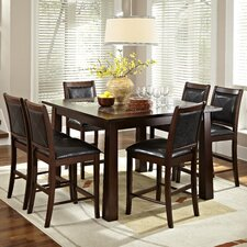 <strong>American Heritage</strong> Granita 7 Piece Counter Height Dining Set