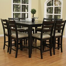 Este 9 Piece Counter Height Pub Set