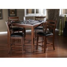 <strong>American Heritage</strong> Rosa 5 Piece Counter Height Dining Set