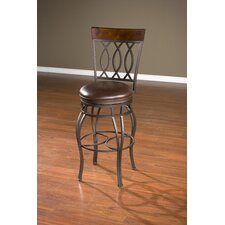 Bella Swivel Bar Stool with Cushion