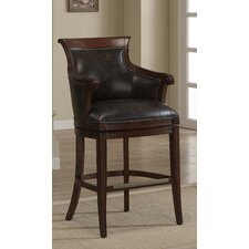 "<strong>American Heritage</strong> Waldorf 30"" Swivel Bar Stool with Cushion"