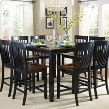 <strong>American Heritage</strong> Ellington 9 Piece Counter Height Dining Set
