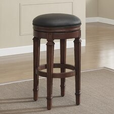 "Cambridge 32"" Swivel Bar Stool with Cushion"
