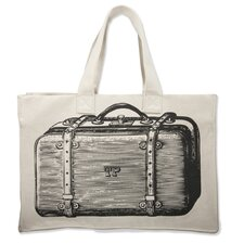 Luddite Suitcase Tote Bag