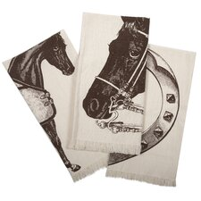 <strong>Thomas Paul</strong> Thoroughbred Hand Towel (Set of 3)