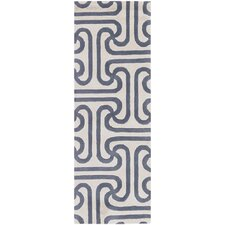 Tufted Pile Grey Ionic Rug