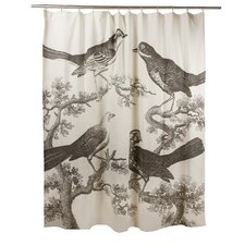 <strong>Thomas Paul</strong> Ornithology Shower Curtain