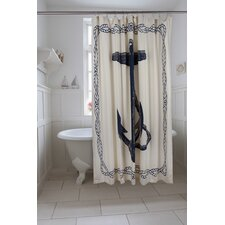Bath Anchor Shower Curtain